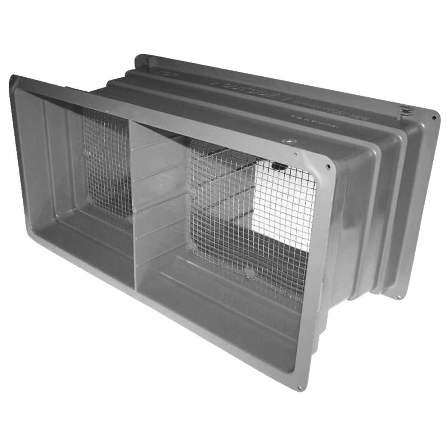 NorWesco DLX 8 In. x 16 In. Plastic Manual Foundation Vent Image 1