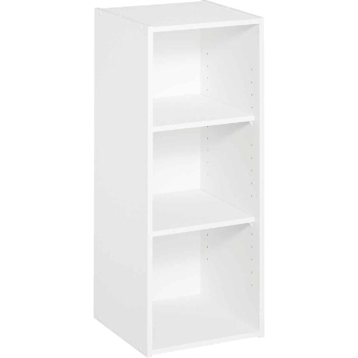 ClosetMaid White 3-Shelf Storage Stacker Organizer