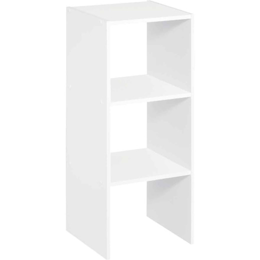ClosetMaid 31 In. White Vertical Storage Stacker Organizer