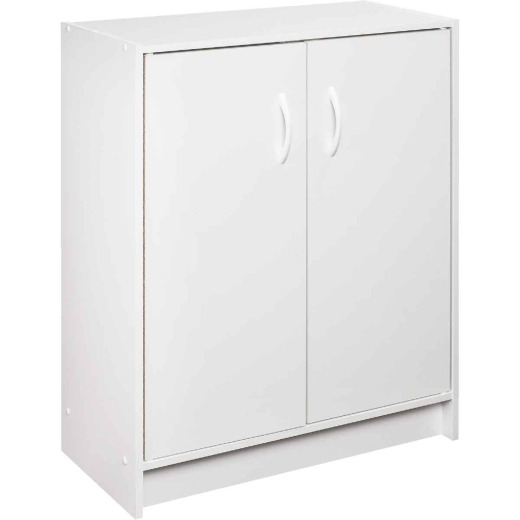ClosetMaid White 2-Door Base Cabinet Storage Organizer