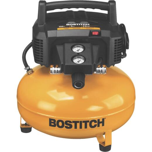 Bostitch 6 Gal. Portable 150 psi Pancake Air Compressor