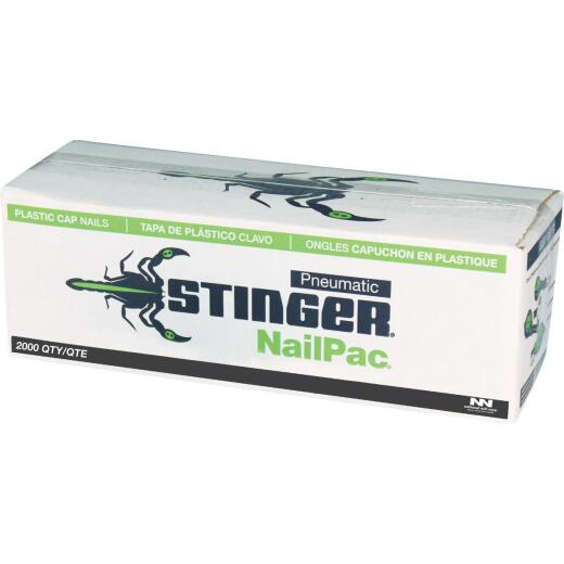 Stinger NailPac 1 In. Roofing Nails with Caps