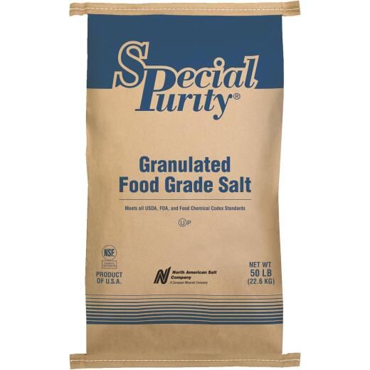 Special Purity 50 Lb. 99.9% Purity Untreated Food Grade Salt
