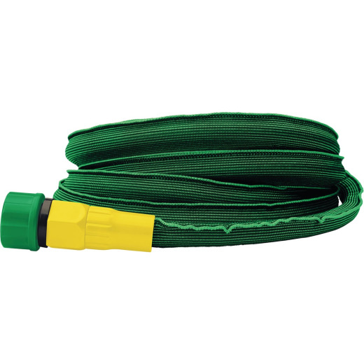 Miracle-Gro Ultralite Flex 1/2 In. Dia. x 50 Ft. L. Drinking Water Safe Flat Hose