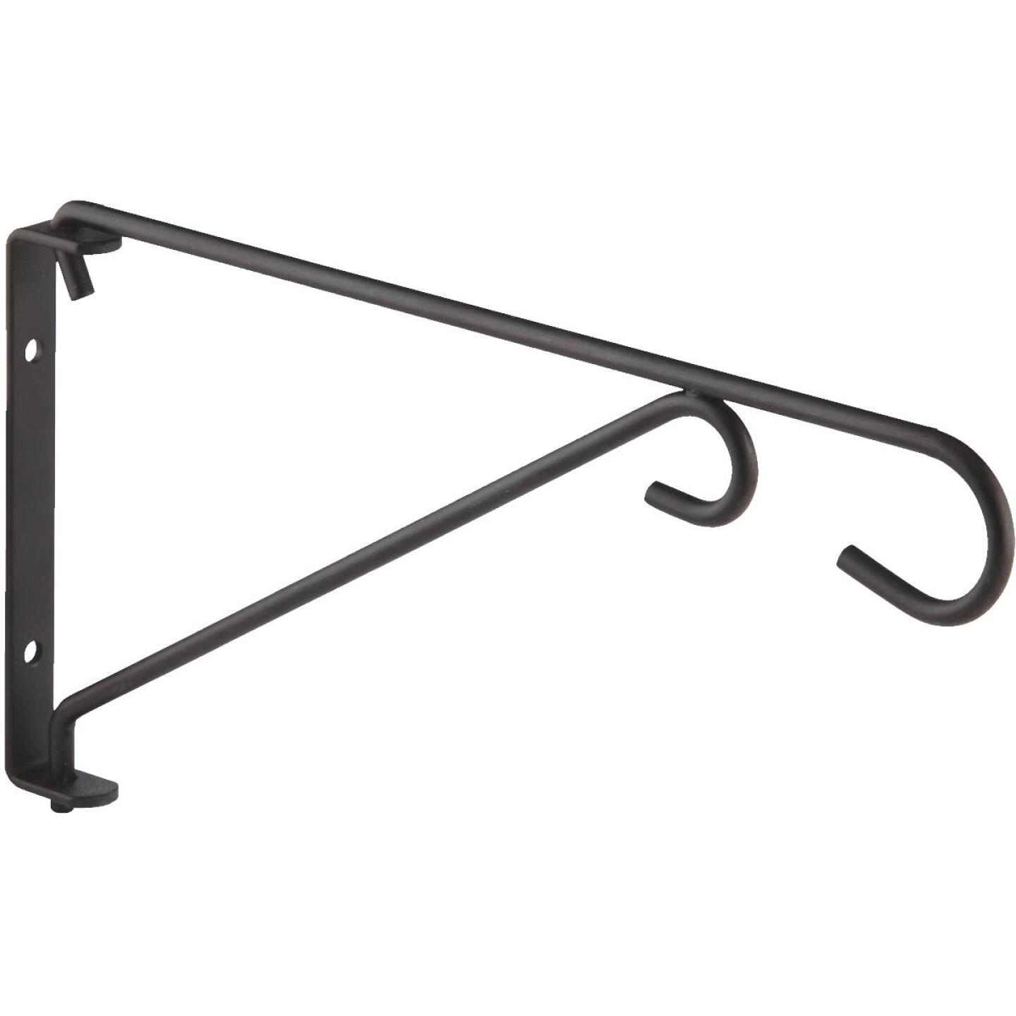 National 9 In. Black Steel Swivel Hanging Plant Bracket Image 4
