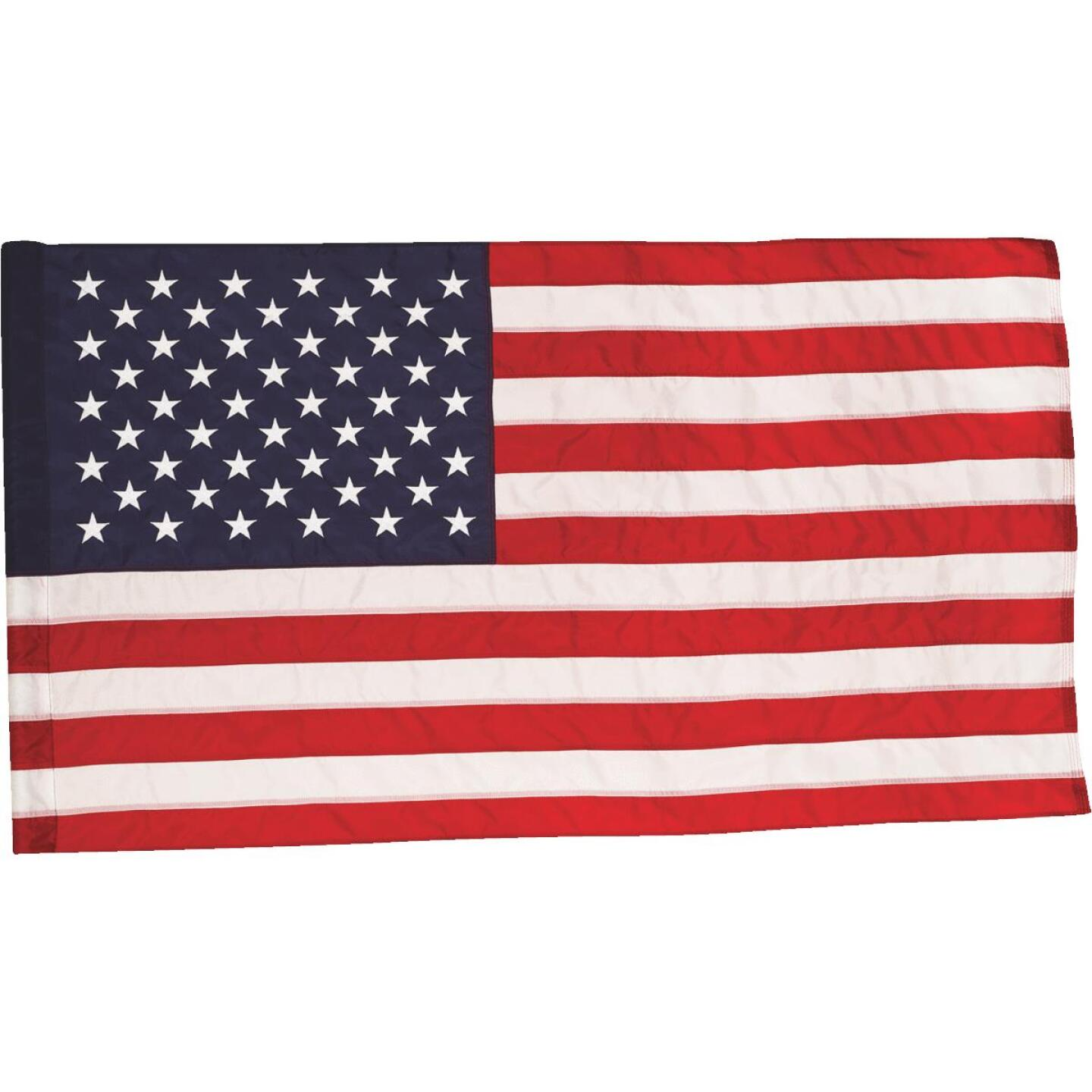 Valley Forge 2.5 Ft. x 4 Ft. Nylon Presidential Series American Flag Image 1